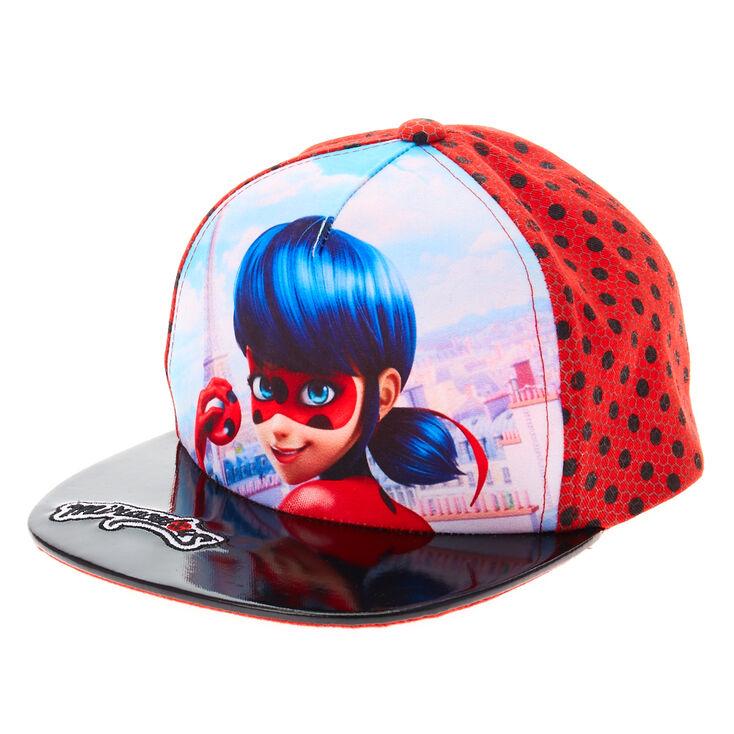 e5b17b1ddc2 Miraculous trade  Ladybug Cap - Red Black