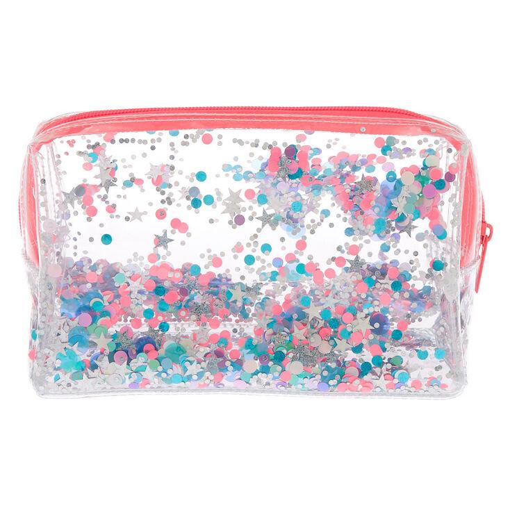 Sequin Confetti Makeup Bag,