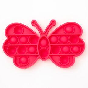 Pop Poppers Butterfly Fidget Toy – Pink,