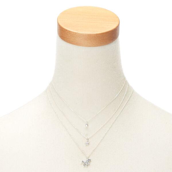 Claire's - glitter unicorn pendant necklaces - 2