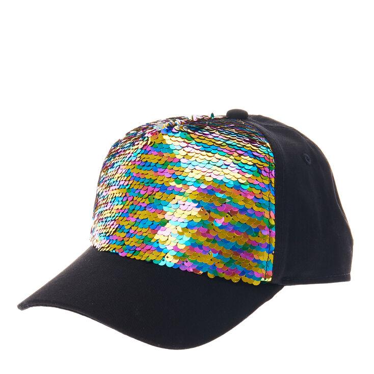 JoJo Siwa Rainbow Reversible Sequin Baseball Cap  74db7b0b715