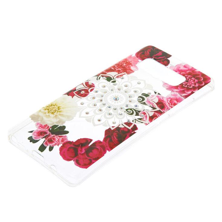 Floral Bling Mandala Phone Case - Fits Samsung Galaxy Note 8,