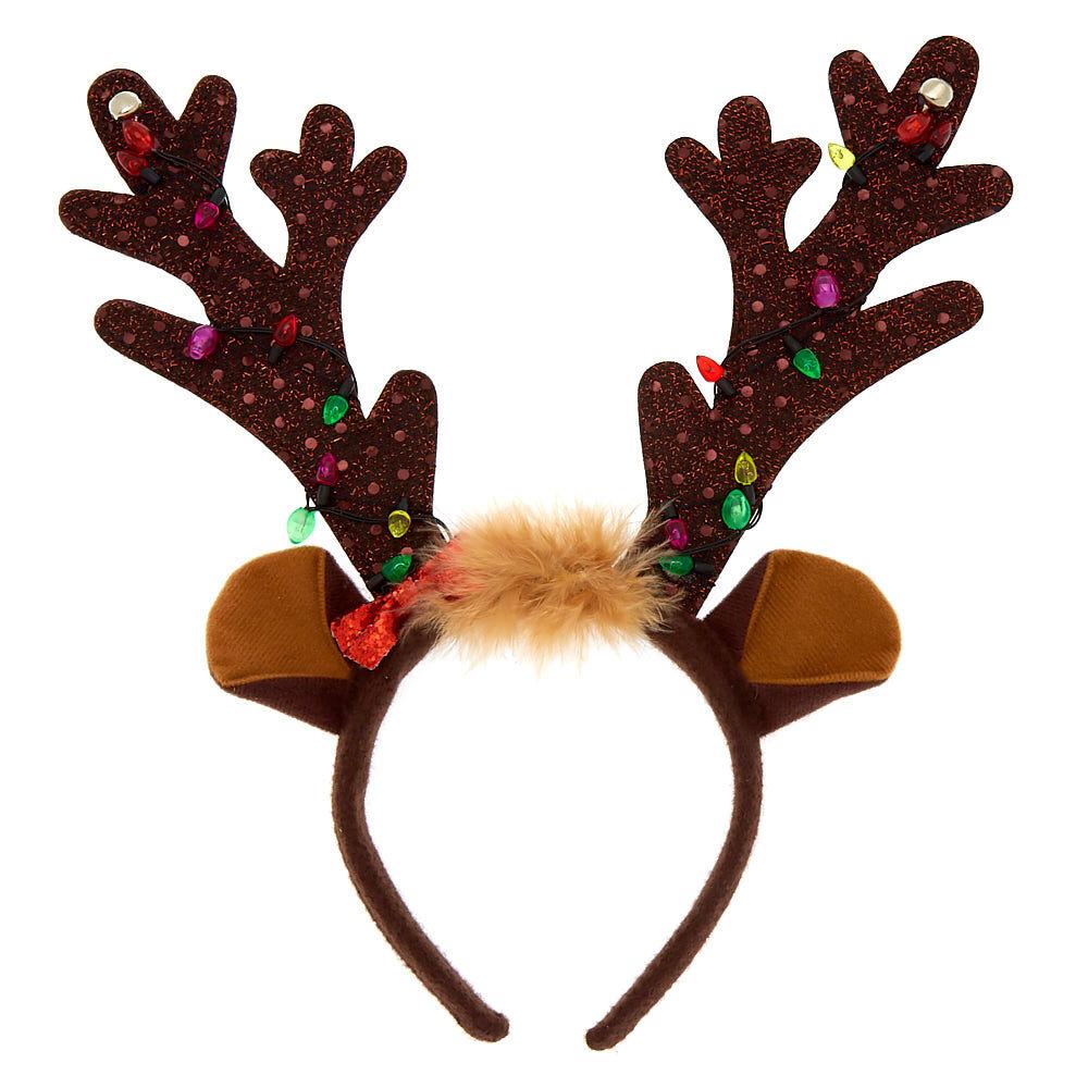 NEW!!!!!! FUN @ CHRISTMAS REINDEER ANTLERS HEADBAND