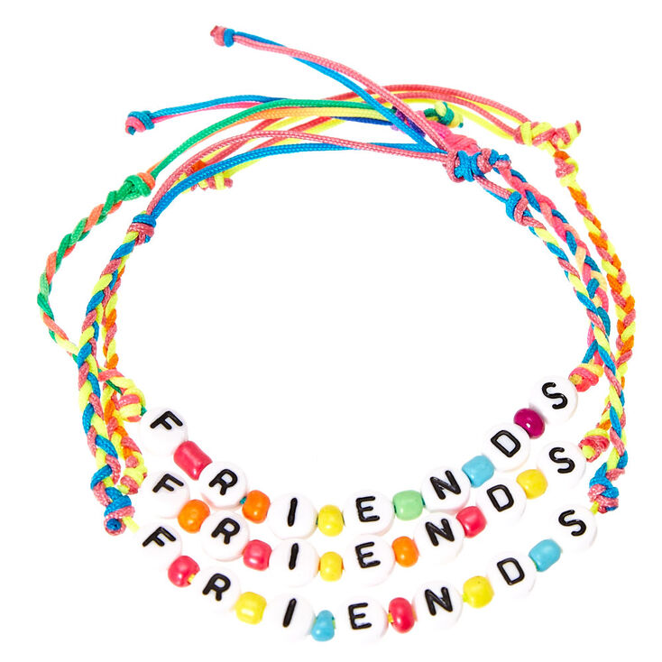 Letter Beads Best Friends Bracelet | Claire's US