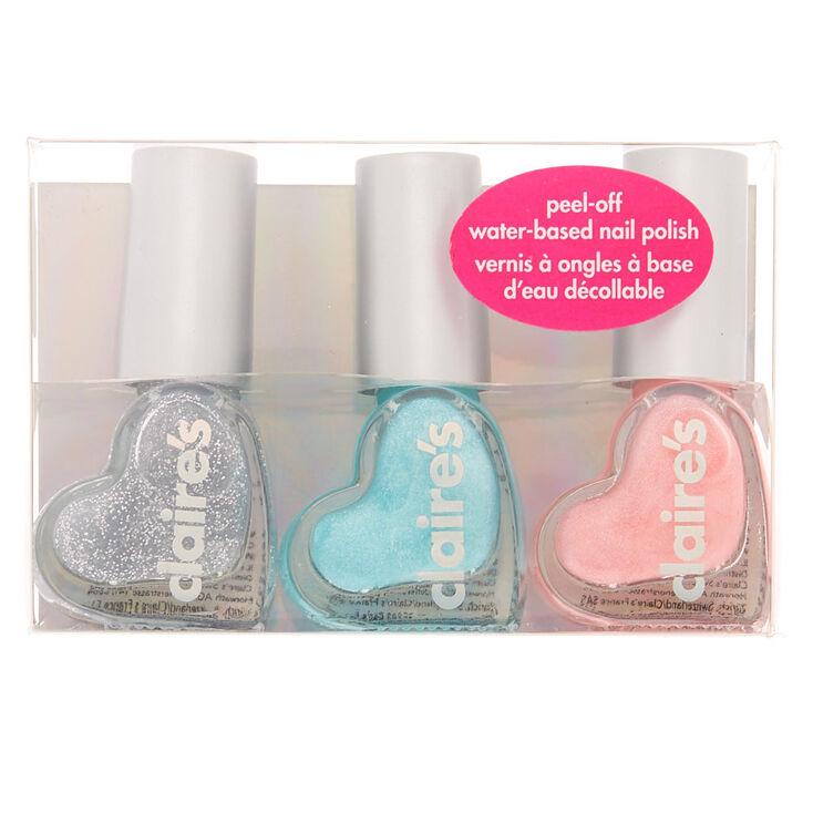 Ice Princess Peel-Off Nail Polish Set - 3 Pack,