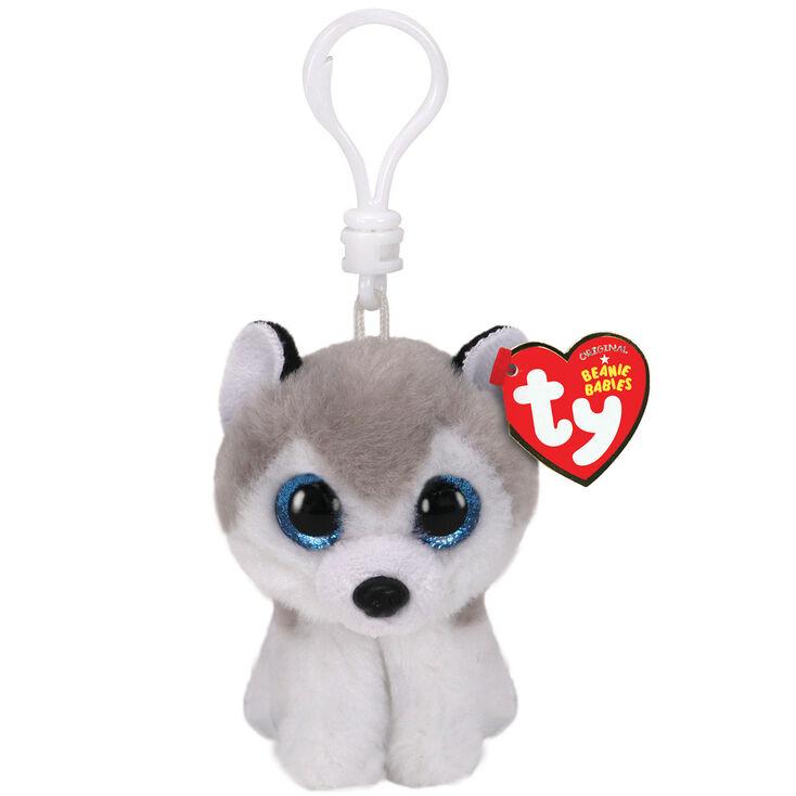 Porte-clés à clip Buff le husky Beanie Boo Ty®,