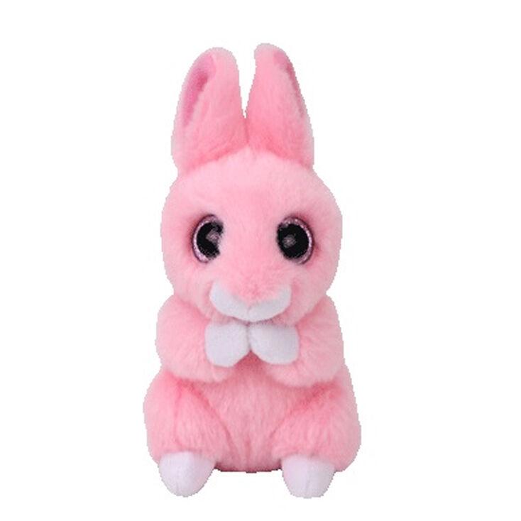 Ty Basket Beanie Jasper the Pink Bunny Rabbit SoftToy  260b5597322