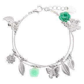 Silver Spring Charm Bracelet - Mint,