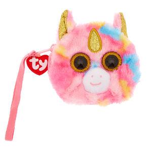75304a1e911530 Ty Beanie Boo Fantasia the Unicorn Wristlet
