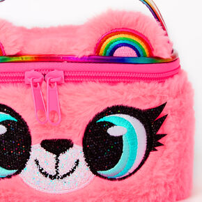Izzy the Bear Makeup Bag - Pink,