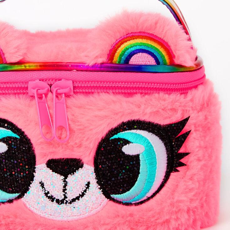 Izzy the Bear Makeup Bag - Pink,