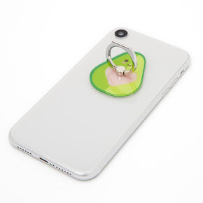 Avocado Phone Ring Stand - Green,
