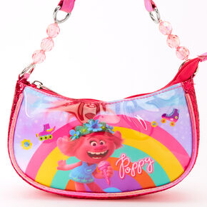 Trolls World Tour Poppy Glitter Purse - Pink,