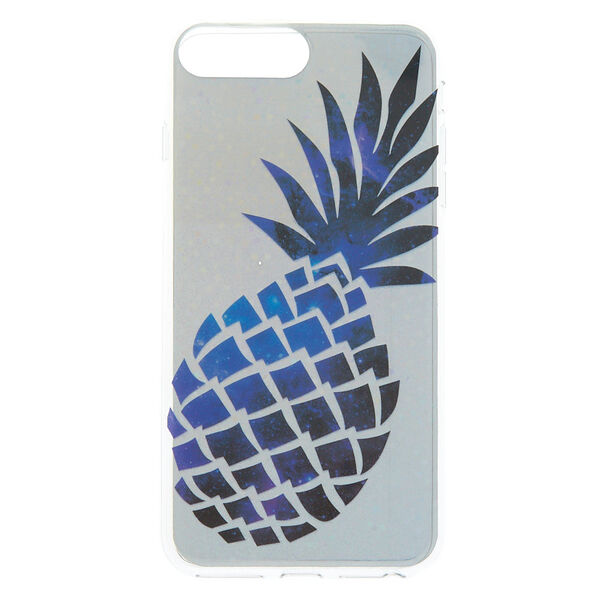Claire's - holographicpineapple phone case - 1