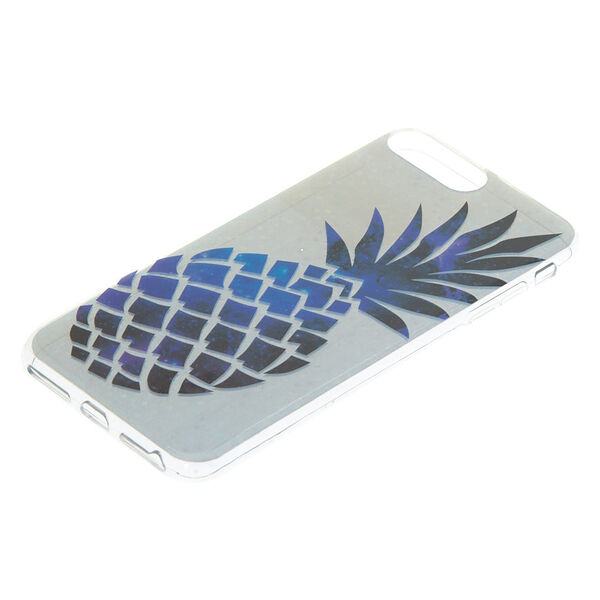 Claire's - holographicpineapple phone case - 2