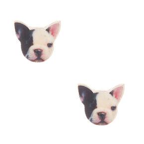 French Bulldog Stud Earrings,