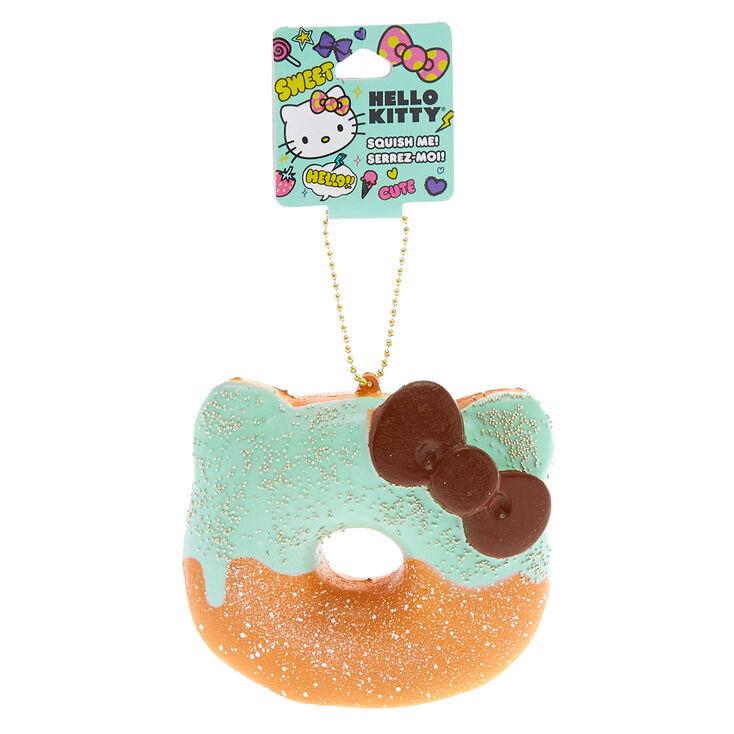 Hello Kitty Squish Keychain: Half Donut - Mint,
