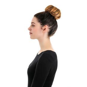 Large Hair Bun Donut - Black,
