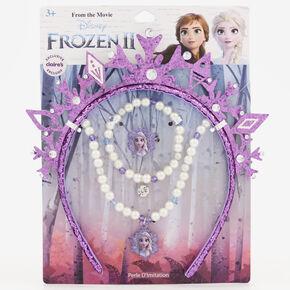 ©Disney Frozen 2 Tiara & Jewellery Set – Purple,