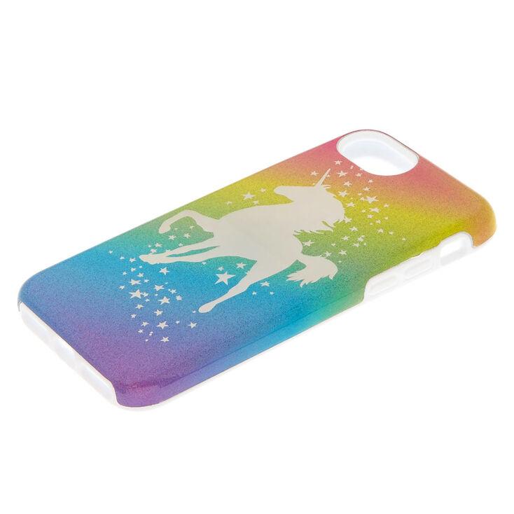 Rainbow Unicorn Protective Phone Case - Fits iPhone 6/7/8,