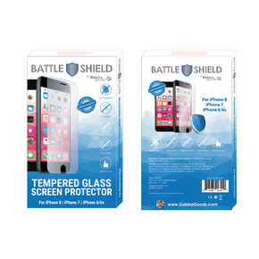 Premium Tempered Glass Screen Protector - Fits iPhone 6/7/8/SE,