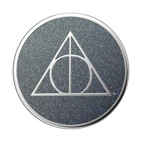 PopSockets Swappable PopGrip - Enamel Glitter Deathly Hallows,