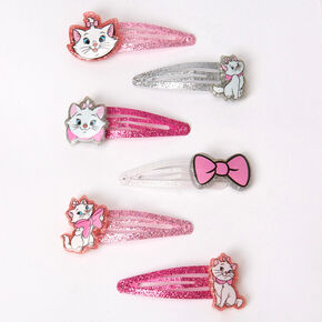 ©Disney Animals Marie Charm Snap Hair Clips - 6 Pack,