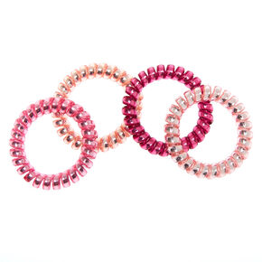Very Berry Spiral Hair Bobbles - 4 Pack,