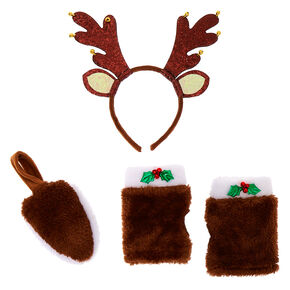 Go to Product: Reindeer Costume Kit - Brown, 3 Pack from Claires