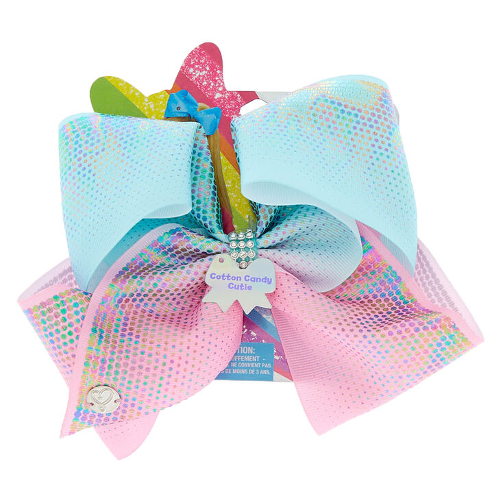 6f996891ab492 JoJo Siwa™ Large Cotton Candy Cutie Hair Bow   Claire's US