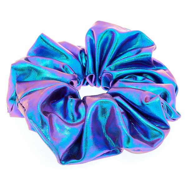 Claire's - bright mermaid hair scrunchies - 2