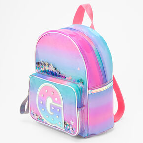 Ombre Shaker Initial Mini Backpack - G,