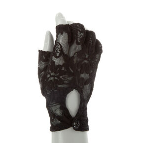 Fingerless Lace Gloves,