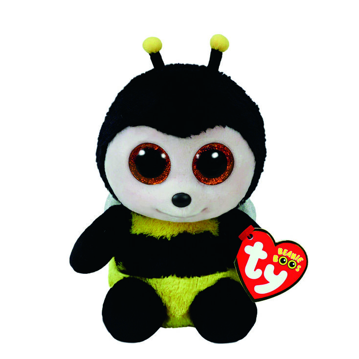 Ty Beanie Boo Small Buzby The Bumble Bee Plush Toy