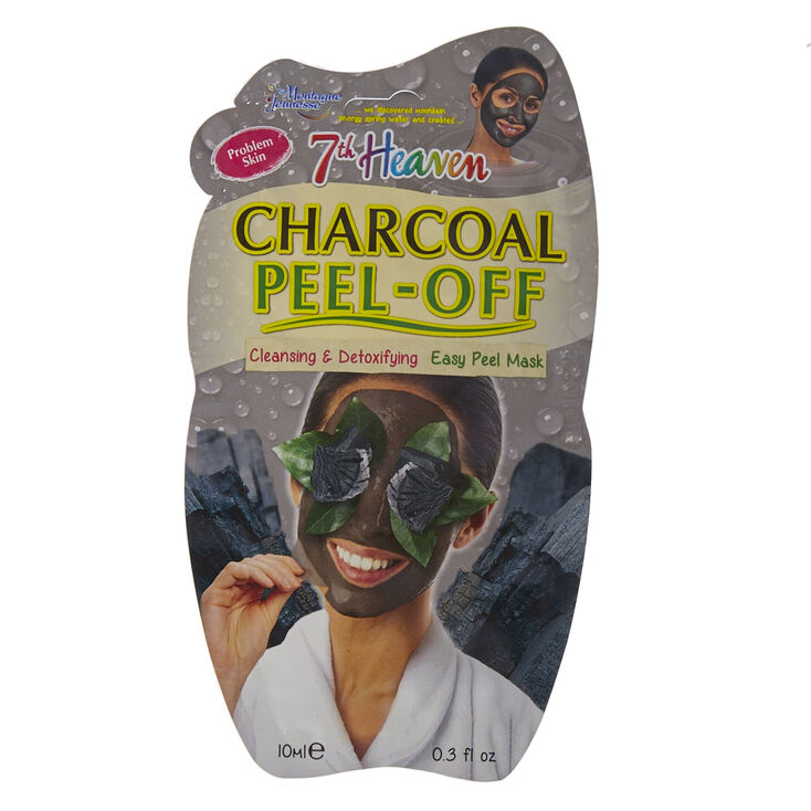 Masque «peel off » au charbon 7th Heaven,