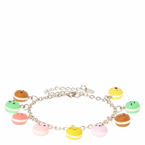Macaroon Silver Charm Bracelet,