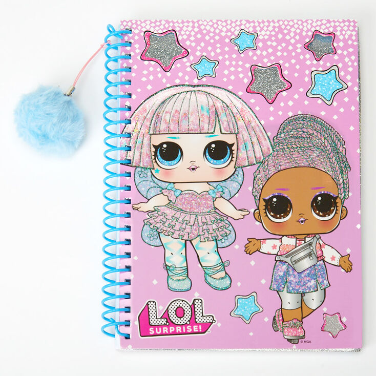 L.O.L Surprise!™ Glitter Notebook – Pink,