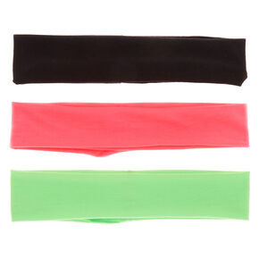 Plain Headwrap Trio - 3 pack,