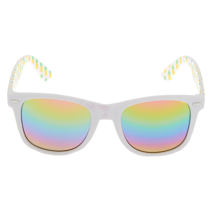 Pineapple Retro Sunglasses - White,