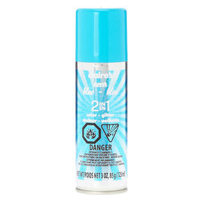 2 in 1 Neon Blue Hairspray,