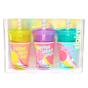 Candy Shaker Soda Pop Lip Balm Set - 3 Pack,