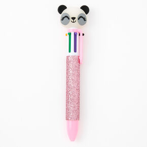 Glitter Panda Multicolored Pen - Pink,