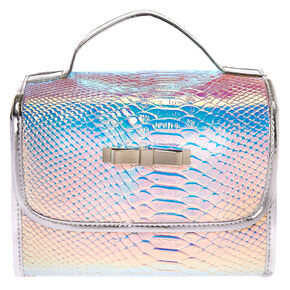 Holographic Roll Travel Makeup Bag,
