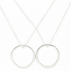 Best Friends Forever Ring Pendant Necklaces - 2 Pack,