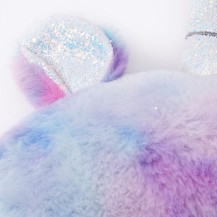 Pastel Unicorn Plush Travel Pillow,