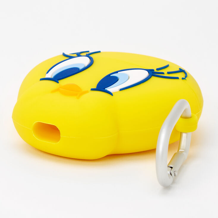 Looney Tunes™ Tweety Bird Silicone Earbud Case Cover - Compatible with Apple AirPods,