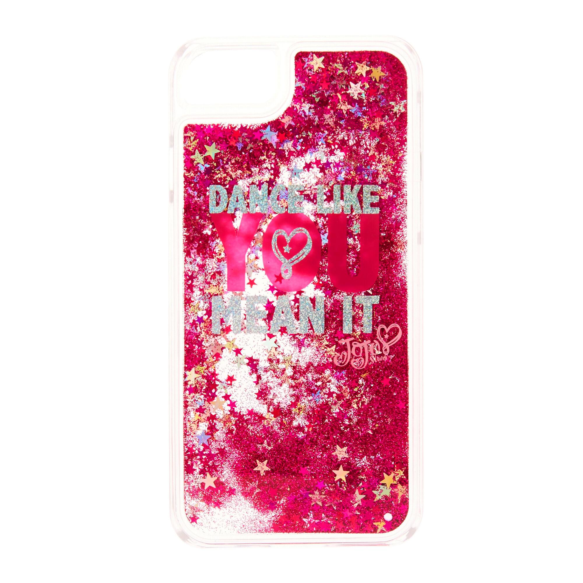 buy popular 0af82 bce9c JoJo Siwa™ Dance Like You Mean It Glitter Phone Case - Fits iPhone 6/7/8
