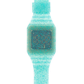 Glitter LED Watch - Turquoise,