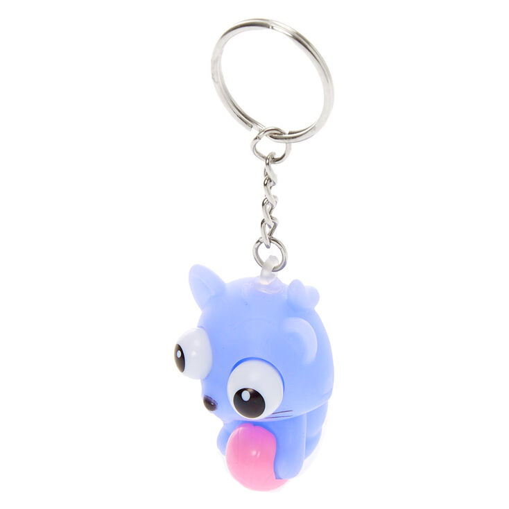 Cat Eye Pop Keychain - Purple,
