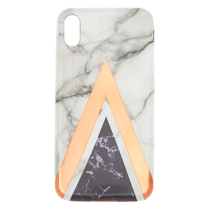 new concept 23421 4b3b8 Pink Geometric Marble Phone Case - Fits iPhone XS Max